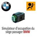 Simulateur d'occupation du siège passager BMW