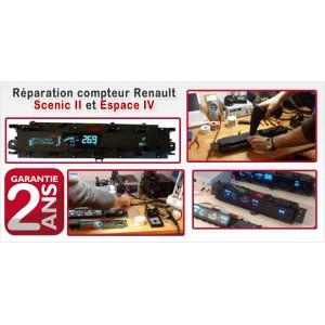 Réparation compteur Scenic 2 et Espace 4