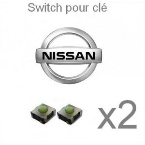 2 switch clé NISSAN