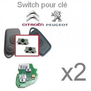 Switch pour télécommande Citroen