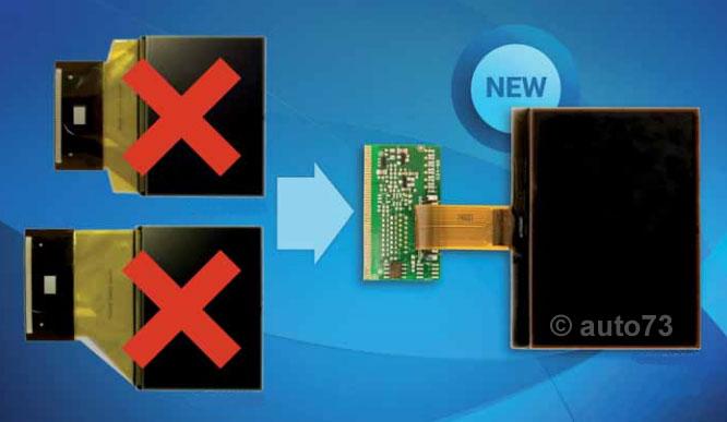 Écran LCD pour réparation compteur VAG