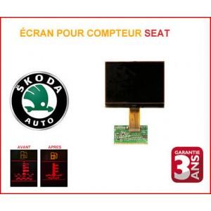 LCD compteur Skoda