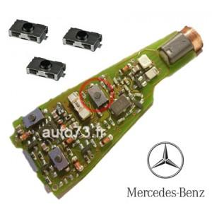 3 Boutons clé Mercedes