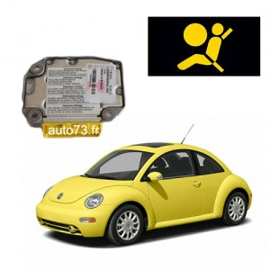 Forfait calculateur airbag New Beetle (erreur 00003)