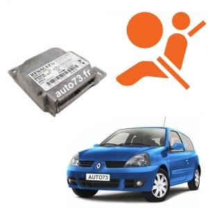 Forfait calculateur airbag Clio 2 0285001403