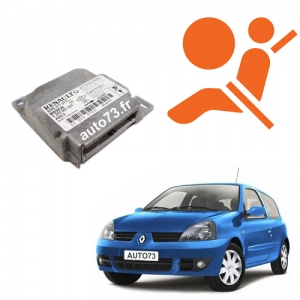 Forfait calculateur airbag Clio 2 0285001414