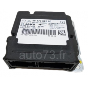 Forfait calculateur airbag 9817062880 0285012427