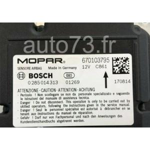 Forfait calculateur réparation airbag Maserati 0285014313