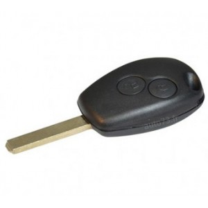 Coque 2 boutons Renault Clio
