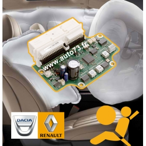 Forfait calculateur airbag Renault
