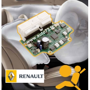 Réparation calculateur airbag 8201236029 402787B8
