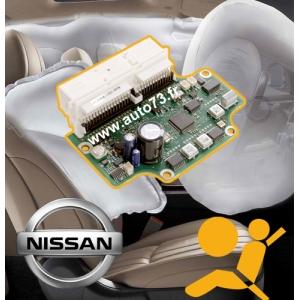 Réparation calculateur airbag Nissan 28556AX61A 0285001665