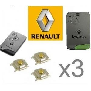 3 switch carte de démarrage RENAULT