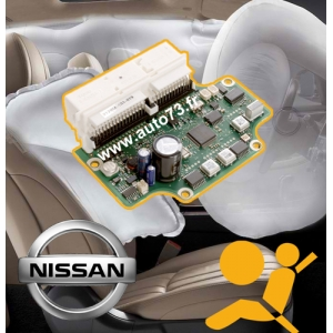 Réparation calculateur airbag Nissan 98820 EZ60A