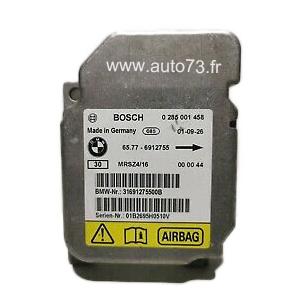 Réparation calculateur airbag 65776912755, 0285001458