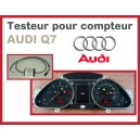 Testeur compteur Audi Q7
