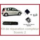 Kit de réparation compteur Scenic 2