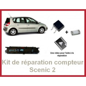 Kit de réparation compteur Scénic 2