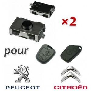 2 Switch télecommande pour Peugeot