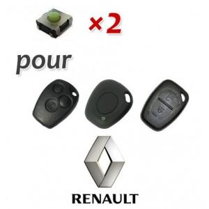 2 Switch pour clé Renault