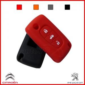 Housse 3 boutons Peugeot Citroen