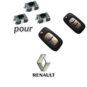 3 Switch pour clé Renault