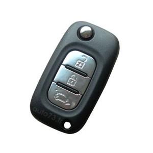 Réparation clé pliante Renault 3 boutons