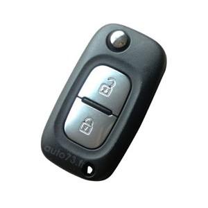 Réparation clé pliante Renault 2 boutons