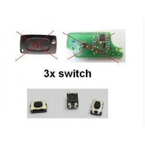 3x switch Peugeot 307 407 308 607 807