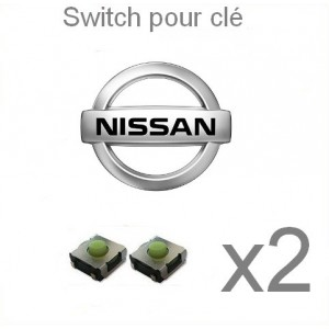 2 switch clé NISSAN