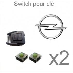 2 Switch pour clé OPEL