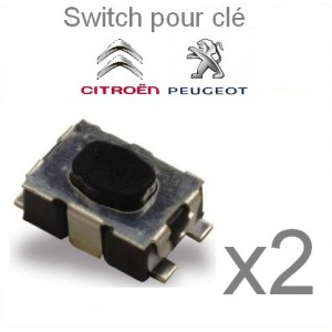2 switch télécommande Citroen