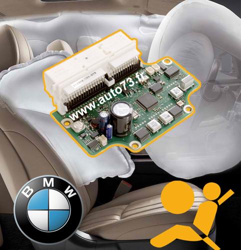 Réparation calculateur airbag BMW E90 / E91