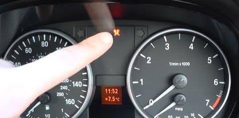 Voyant airbag BMW E60 E61 allumé