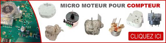 Micro moteur pour compteur