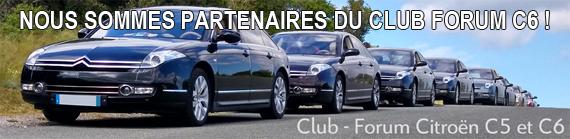 Nous sommes partenaires du Club Forum C6 !