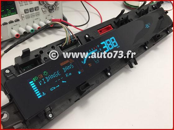 Réparation / test compteur Renault Scenic 2