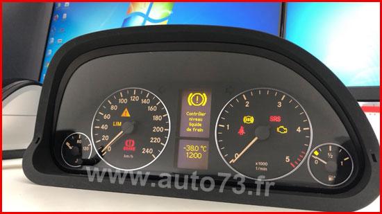 Réparation / test compteur Mercedes classe B