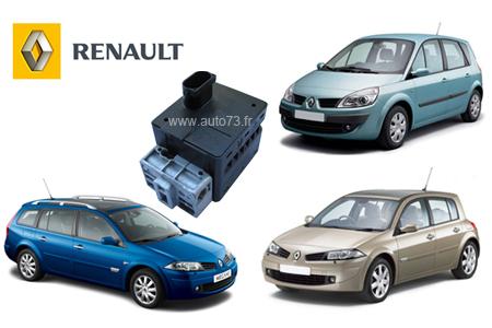 """""""risque blocage direction"""" Renault Megane problème démarrage"""